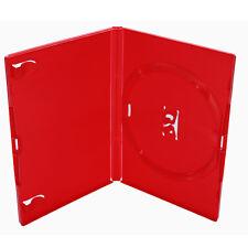 Amaray DVD Hülle Rot für 1 DVD,CD,Blu Ray 7 Hüllen Neuware