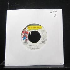 "Derrick Lara / Galaxy P - A Doggy World 7"" VG HOW 214608 Jamaica Vinyl 45"