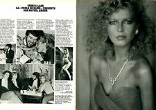Coupure de presse Clipping 1981 Cheryl Ladd  (2 pages)