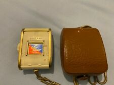 1950's Gossen Sixtomat Light Exposure Meter with Case and Chain