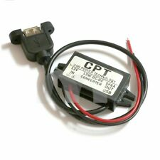 DC 12V To 5V 3A 15W Dual USB Output Power Adapter Converter Module For Car Boat