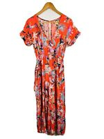 Jaase Womens Jumpsuit Size Small Floral Multicoloured Good Condition