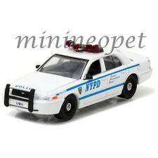 GREENLIGHT 42771 2011 FORD CROWN VICTORIA NEW YORK POLICE DEPARTMENT NYPD 1/64