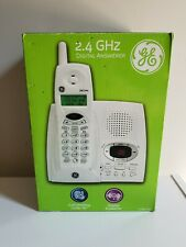 GE Cordless Digital Answering Machine Phone System Model 27851GE1B