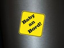 1 x Aufkleber Baby an Board! Warnschild Sticker Autoaufkleber Tuning Kind Child
