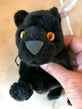 TY BEANIE BABY - MIDNIGHT - BLACK PANTHER - MINT - RETIRED 2001 VVGC