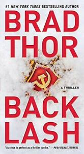 Backlash Volume 18: A Thriller: 19 Scot Harvath by Brad Thor New Paperback Book