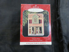 VINTAGE 1998 HALLMARK ORNAMENT Nostalgic Shops - Grocery Store #15  NEW IN BOX