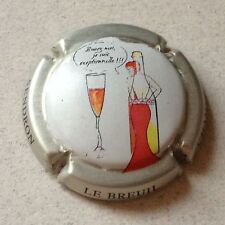 Capsule de champagne SOURDET-DIOT 19f. Violet ovale or
