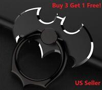 Batman Finger Ring Holder Bracket Stand 360 Rotating For Cell Phone Universal