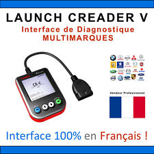 LAUNCH READER 5 V - Valise Diagnostic en Français - AUTO Valise DIAG COM OBD2