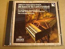 CD ARCHIV / J.S. BACH - DIE KONZERTE FUR 3 UND 4 CEMBALI / TREVOR PINNOCK