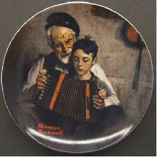 Norman Rockwell Heritage Collection Collector Plate (1981) The Music Maker