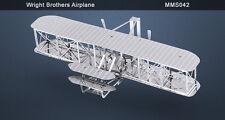 Metal Earth Wright Bothers Airplane 3D Metal  Model + Tweezer  010428