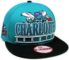 1 New Era® Nba® Charlotte Hornets Classic Stack Punch 9Fifty Snapback Hat Sz M/L