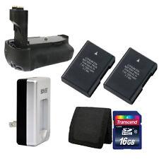 Battery Grip for Nikon D3100 D3200 DSLR + 2x EN-EL14 Battery + Charger 16GB Kit