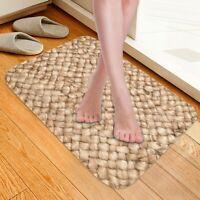 Non Slip Floor Mat Rug Soft Carpet Door Mats Kitchen Bedroom Decor Washable