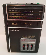 Toshiba Kt-A830 Stereo Radio Cassette Player with Graphic Equalizer and Auto Rev