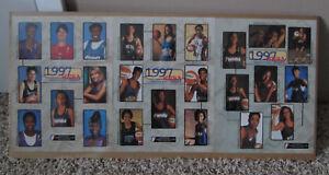 RARE 1997 WNBA INAUGURAL SEASON PHOTOS REBECCA LOBO LISA LESLIE MAN CAVE