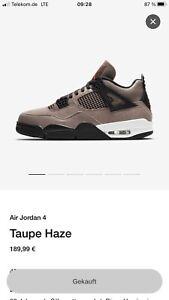 Nike Air Jordan 4 Taupe Haze Gr. 42,5