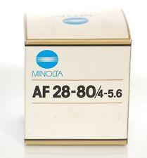 MINOLTA AF 28-80mm f4-5.6