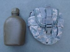 Molle II ACU Digital Camo Pattern Canteen Pouch with canteen - good condition