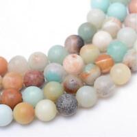 Amazonite Perlen 6mm Poliert * A GRADE * Edelstein Natursteine G276