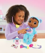 Disney Doc Mcstuffins Get Better Baby Cece Blue Doll Just Play Age 3+ Toy Doctor