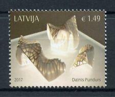 Latvia 2017 MNH Dainis Pundus Contemporary Art 1v Set Stamps