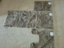 "New Wamsutta ultra soft Bath Rug 60"" x 24"", taupe"