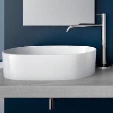 Bacinella appoggio 57 x 37 cm bacinella lavandino arredo lavabo bagno ceramica
