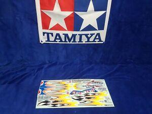 Tamiya Vintage Desert Gator DT-02 1:10 Decals Aufkleber Sticker 58344 NEU