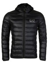 EA7 Emporio Armani Light Down Hooded Jacket Black (8NPB02 PN29Z) Medium RRP £150