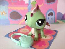~♥~Littlest Pet Shop ~♥~ #1865 Green Pink Dragon Iguana Lizard Rare!
