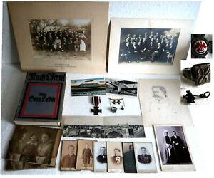 Sehr selten Orden Gift Ring Fotos Buch Karten Flieger Nachlaß Luftwaffe 1900-30