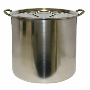 Economy Stainless Steel Brewing Pot, 5 Gallon