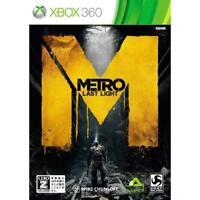 "Used Xbox360 Metro Last light CERO rating ""Z"" Japan Import"