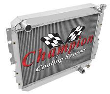 1987 1988 1989 1990 Toyota Landcruiser Champion 3 Row Radiator