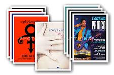 PRINCE - 10 promotionnel affiches - de collection lot carte postale # 5