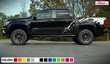 Decal Sticker Vinyl Graphic Side Bed Mud Splash Kit for Chevrolet Colorado Z71