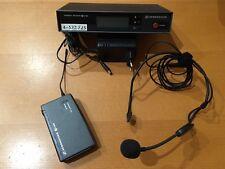 SENNHEISER   EW 500 + EM 100 + Micro casque ME3    518-550 Mhz