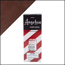 Angelus Brand Brown Suede Dye & Dressing with Applicator in 3 Fl. Oz.