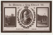 King Edward VII 1910 Memoriam RP Postcard Rotary 708b