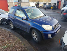 Toyota Rav 4 2.0 vvti (SPARES OR REPAIRS) NO RESERVE AUCTION