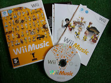 NINTENDO Wii GAME VIDEOGAME Wii MUSIC +BOX +INSTRUCTIONS / COMPLETE PAL