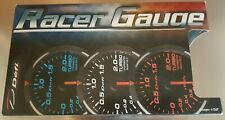 DEFI DF WHITE RACER 60MM PSI PRESSURE GAUGE DF11603