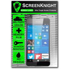 Screenknight Nokia Lumia 650 salvaschermo INVISIBILE ANTERIORE Scudo Militare