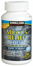 Kirkland Signature Mucus Relief- Chest 400 mg 200 TABLETS