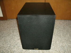"""Paradigm PDR-8 Powered Subwoofer - 100 Watts - 8"""" Woofer - Very Good Condition"""