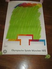POSTER,MANIFESTO AFFICHE OLIMPIADI MONACO,MUNICH,1972,Munchen,RICHARD SMITH ART